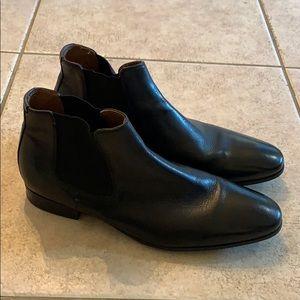 Aldo black Chelsea boots size 10.5